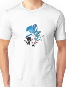 Fairy Tail Cats Unisex T-Shirt