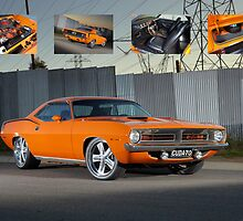 Orange 1970 Plymouth Barracuda by John Jovic