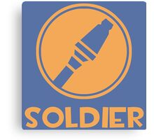 Soldier (Team Fortress 2) Canvas Print