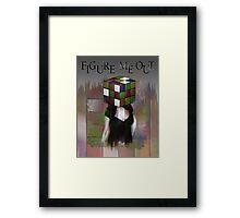 Figure Me Out FV text Framed Print