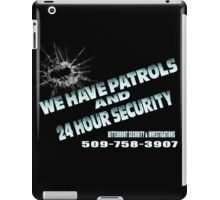 Patrols iPad Case/Skin