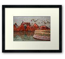 Una Fuente Framed Print
