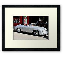 Porsche 365 Speedster Framed Print