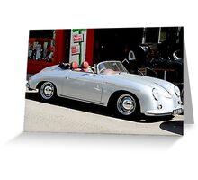 Porsche 365 Speedster Greeting Card