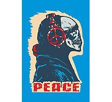 Peace Skull Photographic Print