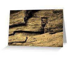 Timber Greeting Card