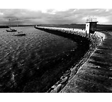 Pier B&W Photographic Print