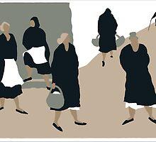 women in black by chandy