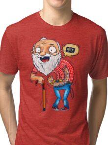 Modern Grandpa Tri-blend T-Shirt