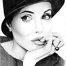 Angelina Jolie  by Laura Balc Photographer