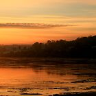 Sunset over Foyle by Ciaran Sidwell