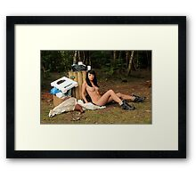 TRASH! Framed Print