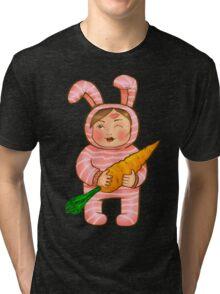 Mom's Bunny Tri-blend T-Shirt