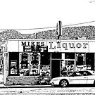 Mike's Liquor, Joshua Tree, California by Alastair McKay