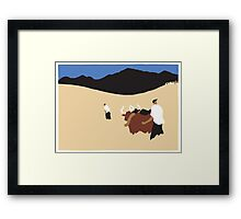 Cows 2 Framed Print