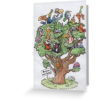 Partree over here ! - Celebratory Greeting Card Greeting Card