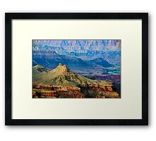 Grand Canyon from south rim   Framed Print