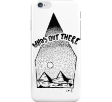 whos out there iPhone Case/Skin