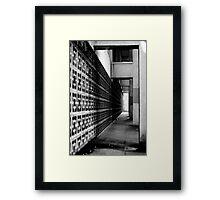 The Unseen, Modern architecture, Bristol Framed Print