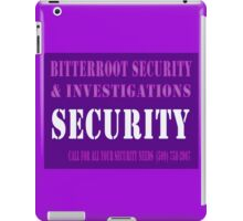 Glowing Security iPad Case/Skin