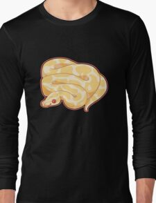 Albino Ball Python Long Sleeve T-Shirt