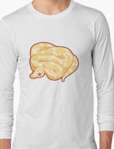 Albino Ball Python Long Sleeve T-Shirt