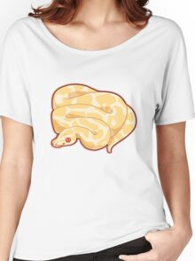 Albino Ball Python Women's Relaxed Fit T-Shirt