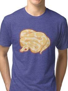 Albino Ball Python Tri-blend T-Shirt