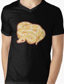 Albino Ball Python Mens V-Neck T-Shirt