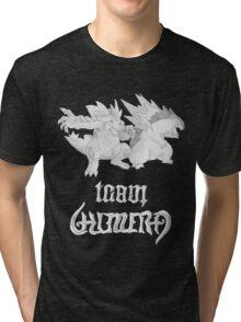 Team Chimera - Rhys's Feraligatr & Typhlosion Tri-blend T-Shirt