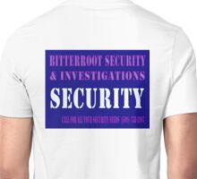 Security in Blue Unisex T-Shirt