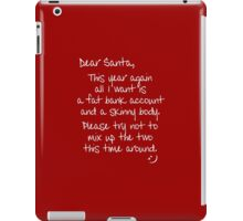 Dear Santa iPad Case/Skin