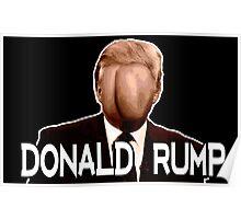 Donald Rump Poster