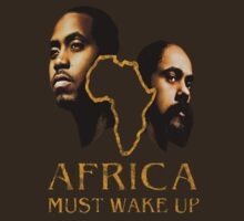"""Africa Must Wake Up"" - Nas & Damian Marley by Cynthia Butare"