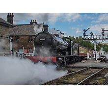 Steam train 2 Photographic Print