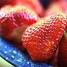 Fresh Strawberries by Karin  Hildebrand Lau