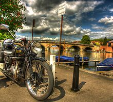 Rudge before Regatta by nick board