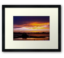 Slight wind Framed Print