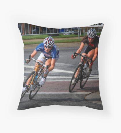 Rushlee Mae Buchanan, Colavita Cycling Throw Pillow