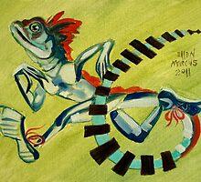Basilisk Run by Ellen Marcus