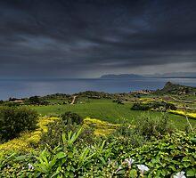 Vista panoramica di Scopello by Andrea Rapisarda