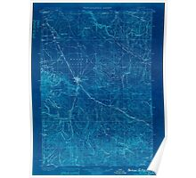 USGS Topo Map Oregon Baker City 283136 1901 125000 Inverted Poster