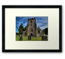 St Mary Framed Print
