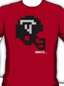 Tecmo Bowl - Atlanta Falcons - 8-bit - Mini Helmet shirt T-Shirt