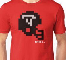 Tecmo Bowl - Atlanta - 8-bit  - Mini Helmet shirt Unisex T-Shirt