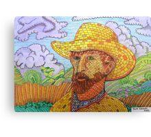 338 - BRICK VAN GOGH - DAVE EDWARDS - COLOURED PENCILS - 2011 Canvas Print