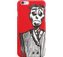 Sad Man (b) iPhone Case/Skin