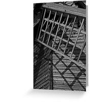 Pitstone Windmill Close Up Greeting Card