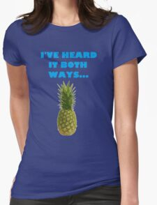 Psych I've Heard It Both Ways Womens Fitted T-Shirt