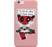 Save me Spider-Man! iPhone Case/Skin